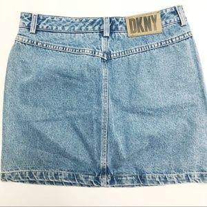 Vintage DKNY denim skirt (12)